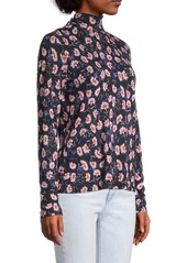 Rebecca Taylor Fleur Long-Sleeve Top
