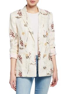 Rebecca Taylor Ivie Embroidered Blazer