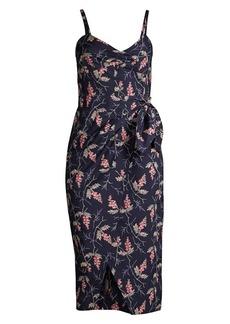 Rebecca Taylor Ivie Wrap Dress
