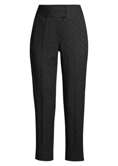 Rebecca Taylor Jacquard Cropped Trousers