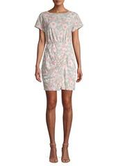 Rebecca Taylor Kamea Floral Jersey Mini Dress