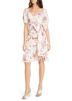 La Vie Rebecca Taylor Averie Wrap Dress