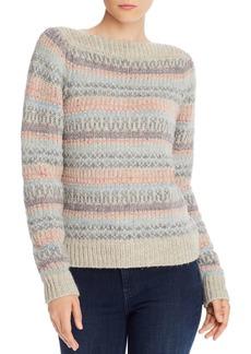La Vie Rebecca Taylor Boat Neck Fair Isle Sweater - 100% Exclusive