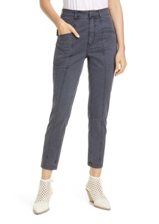 La Vie Rebecca Taylor Crop Stretch Twill Pants