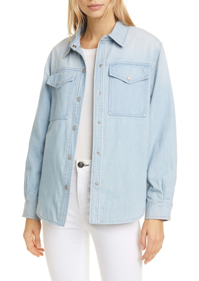 La Vie Rebecca Taylor Denim Shirt Jacket