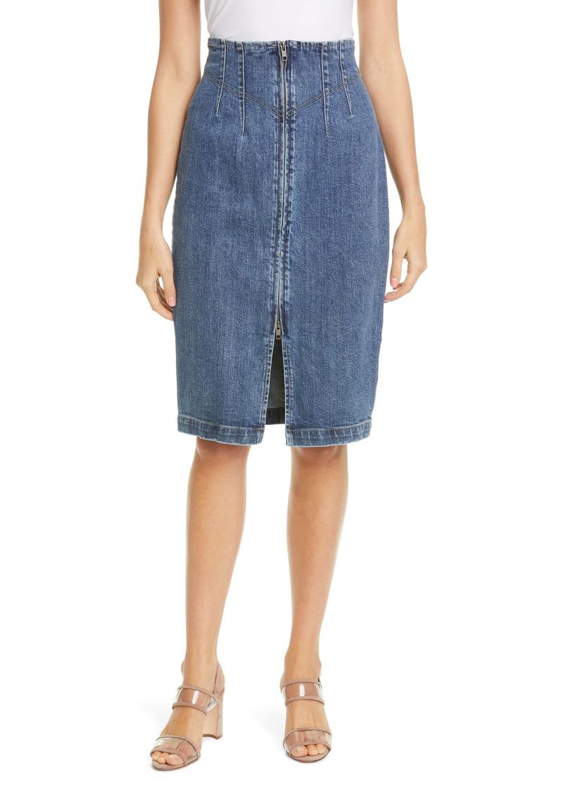 La Vie Rebecca Taylor Denim Skirt