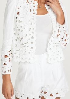 La Vie Rebecca Taylor Ella Embroidery Jacket