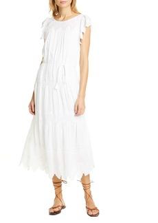 La Vie Rebecca Taylor Embroidered Voile Dress