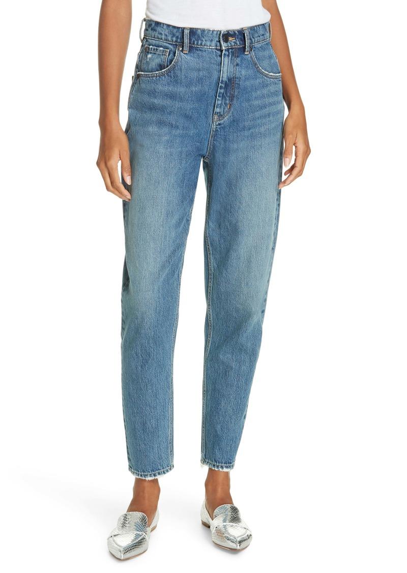 La Vie Rebecca Taylor Emilie High Waist Ankle Jeans (La Lune)
