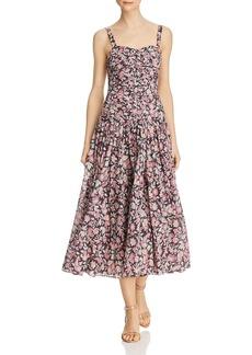 La Vie Rebecca Taylor Falaise Floral Dress