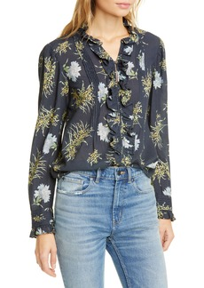 La Vie Rebecca Taylor Jasmine Button-Up Top