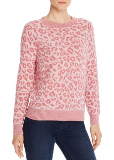 La Vie Rebecca Taylor Leopard Print Sweater - 100% Exclusive