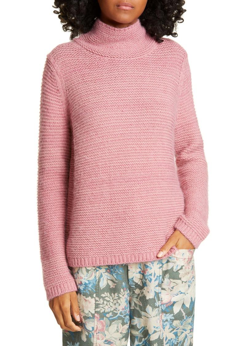 La Vie Rebecca Taylor Lofty Links Merino Wool Blend Sweater