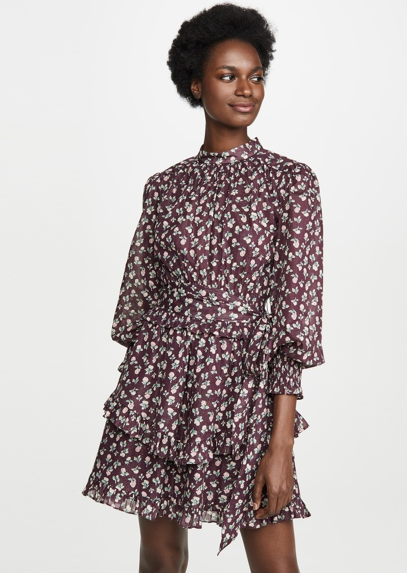La Vie Rebecca Taylor Long Sleeve Cherise Dress