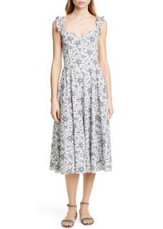 La Vie Rebecca Taylor Provencal Midi Dress