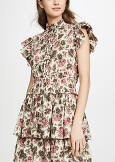 La Vie Rebecca Taylor Sleeveless Chouette Dress