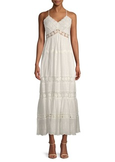 Rebecca Taylor Lace Cotton Day Dress