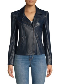 Rebecca Taylor Leather Biker Jacket