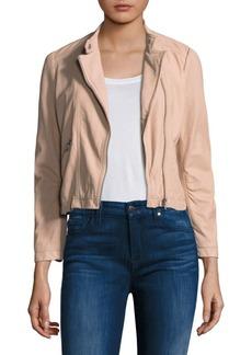 Rebecca Taylor Leather Moto Jacket