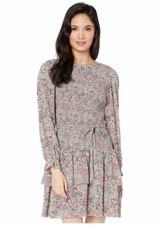 Rebecca Taylor Long Sleeve Camila Floral Dress