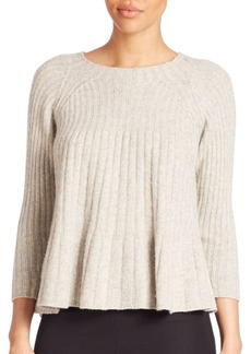 Rebecca Taylor Long Sleeve Knit Sweater