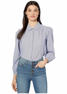 Rebecca Taylor Long Sleeve Lina Stripe Top