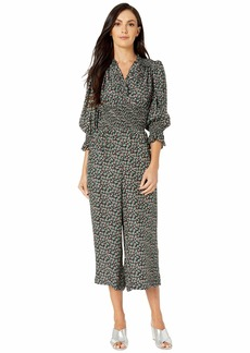 Rebecca Taylor Long Sleeve Louisa Floral Jumpsuit