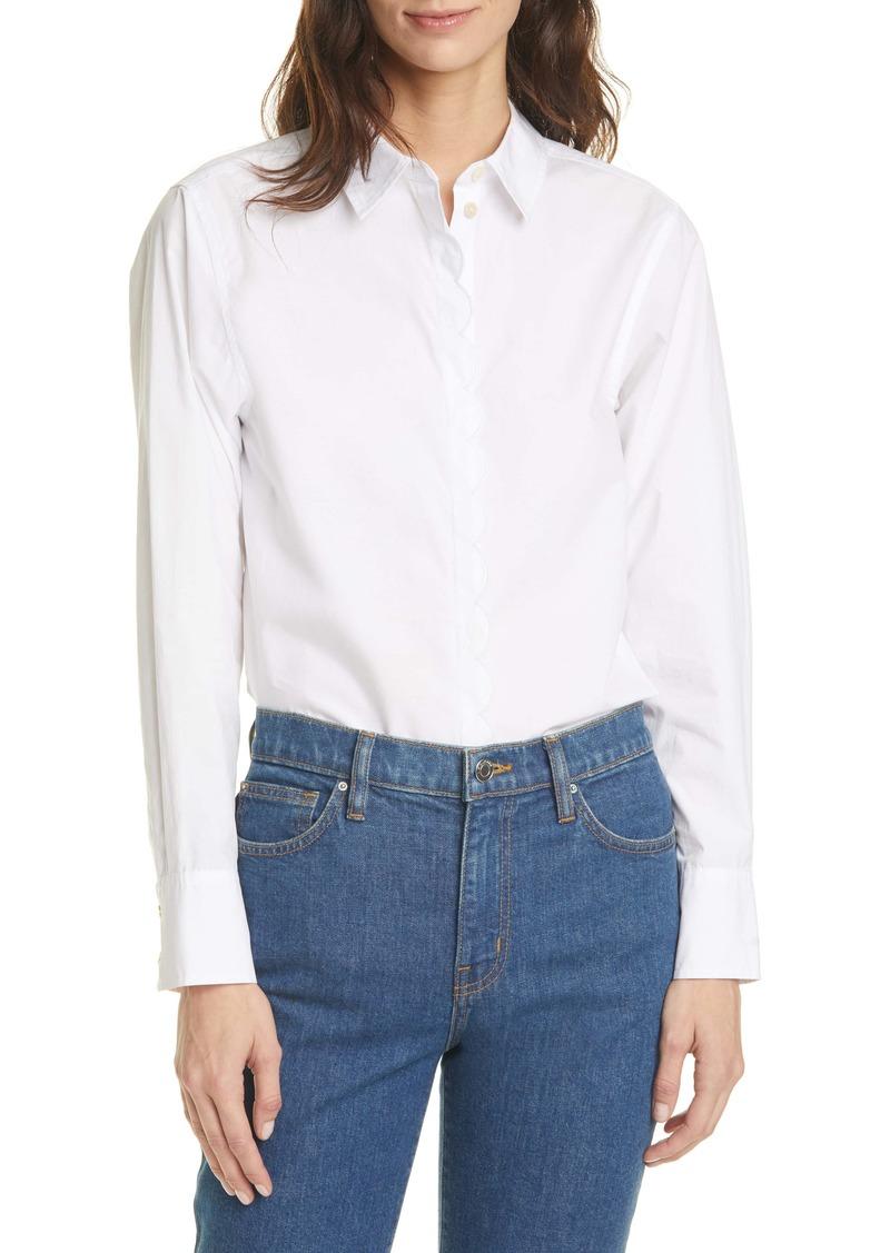 Women's Rebecca Taylor Poplin Tunic Shirt