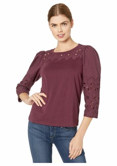 Rebecca Taylor Long Sleeve Winter Garden Jersey