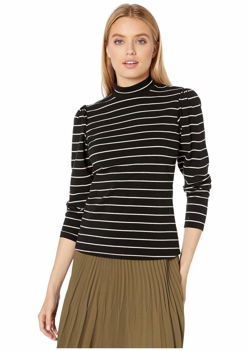Rebecca Taylor Long Sleeves Yarn-Dyed Stripe Jersey