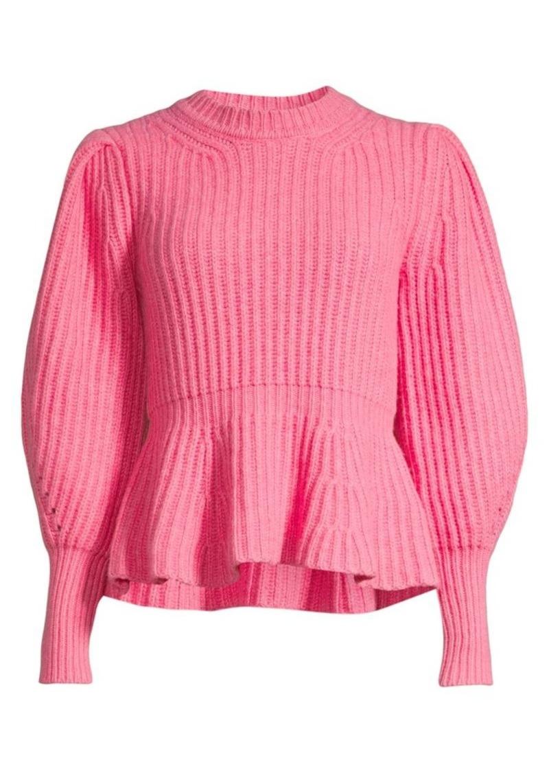 Rebecca Taylor Love Peplum Sweater