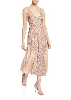 Rebecca Taylor Lucia Ruffle Tank Dress