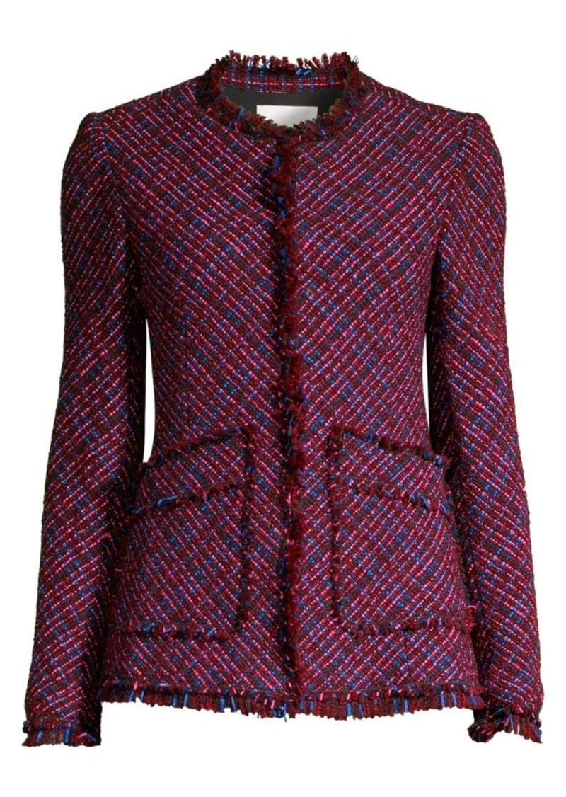 Rebecca Taylor Multi-Tweed Jacket