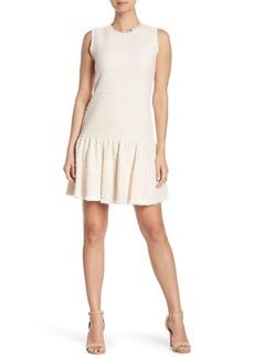 Rebecca Taylor Multicolor Tweed Sleeveless Dress