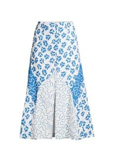 Rebecca Taylor Perla Petal Midi Skirt