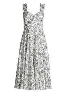 Rebecca Taylor Provencal Floral Cotton Dress
