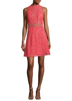 Rebecca Taylor Arella Sleeveless Lace Dress