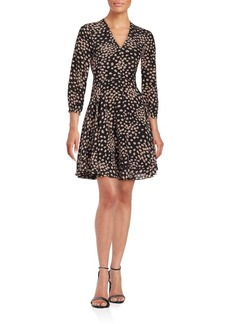 Rebecca Taylor Aster Printed Silk Dress