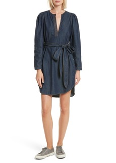 Rebecca Taylor Belted Denim Dress