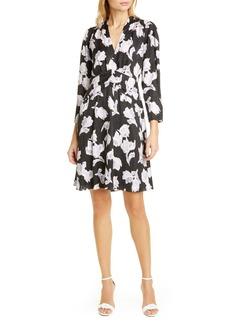 Rebecca Taylor Blossom Silk Blend Dress