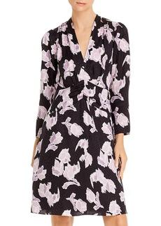 Rebecca Taylor Blossom V-Neck Dress
