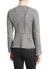 Rebecca Taylor Bouclé Tweed Jacket