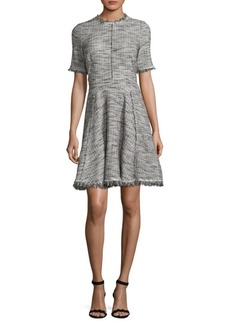 Rebecca Taylor Boucle Mini Dress