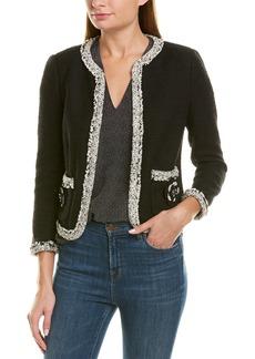 Rebecca Taylor Braided Tweed Jacket