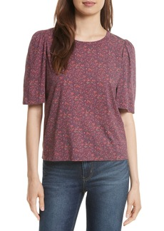 Rebecca Taylor Brittany Floral Jersey Top