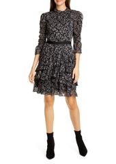 Rebecca Taylor Celia Silk Chiffon Dress