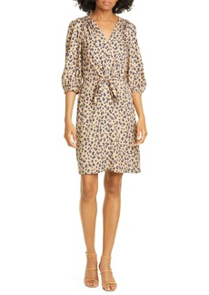 Rebecca Taylor Cheetah Print Dress