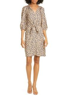 Rebecca Taylor Cheetah Print Dress