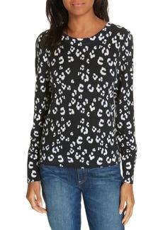 Rebecca Taylor Cheetah Print Sweater