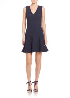 Rebecca Taylor Chevron Dress